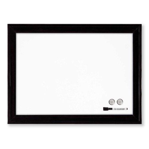 Quartet Magnetic Dry Erase Board, 11' x 17' Whiteboard/White Board, Black Frame (79280)