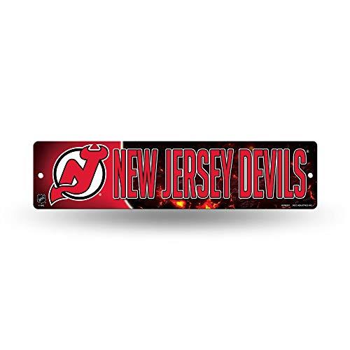 Rico HSN8301 Plastic Street Sign , New Jersey Devils