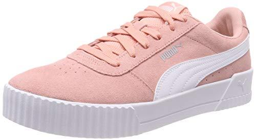 Puma Damen Carina Sneaker, Rosa (Peach Bud-Puma White-Puma Silver), 40 EU