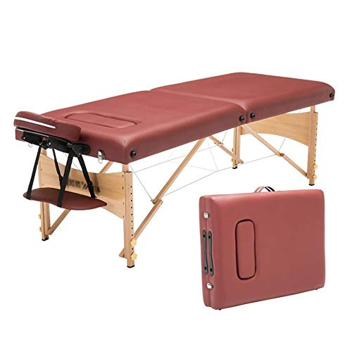 Why Choose LJHA Folding Massage Bed, Beauty Bed With Chest Hole Acupuncture Tattoo Portable Solid Wo...