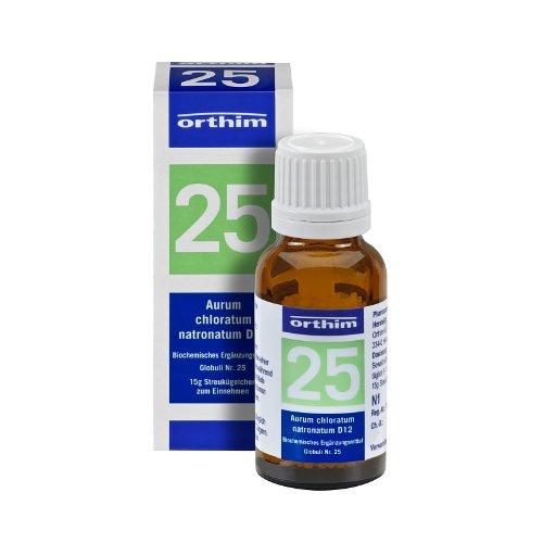 Schuessler Globuli Nr. 25 - Aurum chlor. natronatum D12