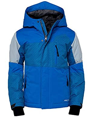 Arctix Boys Spruce Insulated Jacket, Nautical Blue, X-Small