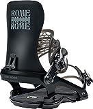 Rome Snowboards 390 Black L-XL, Rilegatura Snowboard. Uomo, Nero