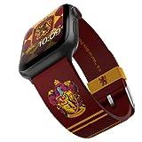 Harry Potter, cinturino per smartwatch con licenza ufficiale, compatibile con Apple Watch (non incluso) per 38 mm, 40 mm, 42 mm e 44 mm.