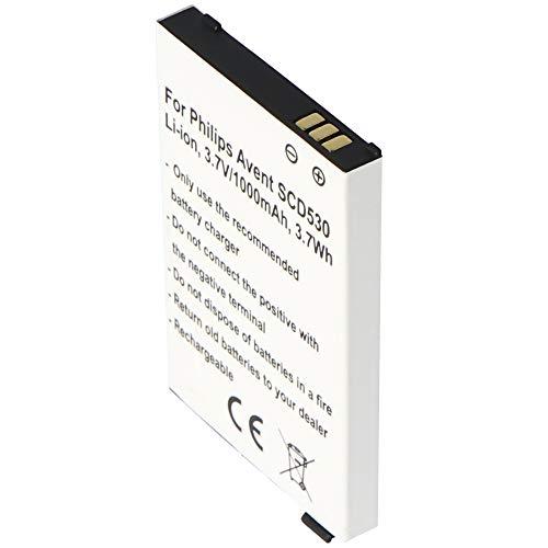 Akku passend für Philips Avent SCD530, Li-ion, 3,7V, 1000mAh, 3,7Wh