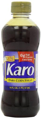 Karo Dark Corn Syrup 473ml - Pack of 3 (Karo Dunkler Maissirup 473ml - Packung Mit 3)