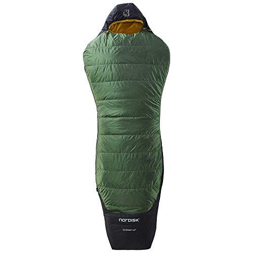 Nordisk Gormsson +10° Curve Schlafsack L Artichoke Green/Mustard Yellow/Black 2021 Quechua Schlafsack