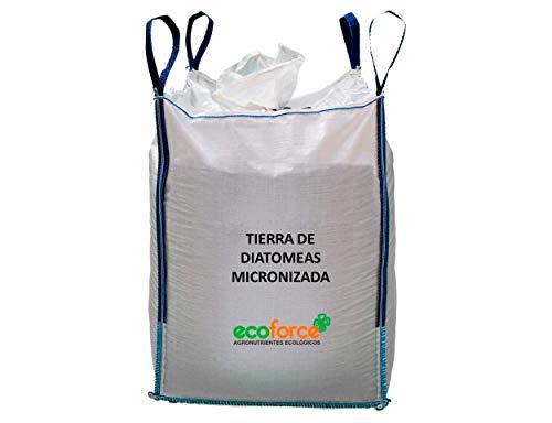 CULTIVERS Tierra de Diatomeas Micronizada de 1000 kg. 100% Natural y Ecológico. No calcinada de alta pureza, sin tratamientos ni residuos, sin tratamientos ni residuos.