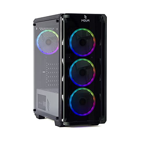 MAK Advance - Ordenador de sobremesa para videojuegos RYZEN 5 3600, RTX 2060 6 GB, SSD Nvme 250 GB + HDD 2 TB, RAM 16 GB 3200 MHz, ordenador de gaming, Windows 10 Pro