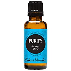 Like a housekeeper for your mind, Purify clears out mental clutter with its citrus-heavy, slightly minty aroma. Purify is a synergy blend that combines Grapefruit, Eucalyptus, Lemongrass, Lime and Lemon. As one, these oils can increase alertness and ...