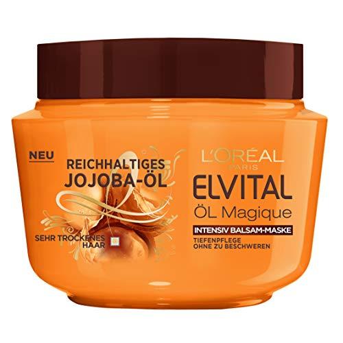 L\'Oréal Paris Elvital Öl Magique Jojoba Intensivkur, 1er Pack(1 x 300 ml)