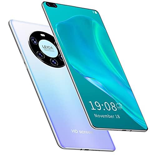 RUBAPOSM Desbloquear Smartphone, Sistema Android 6.0, Teléfono Móvil 3G con Doble Tarjeta y Pantalla Completa 6.8 in, Cámara HD 2 + 16MP, Batería 3500 mAh, Desbloqueo Facial Inteligente