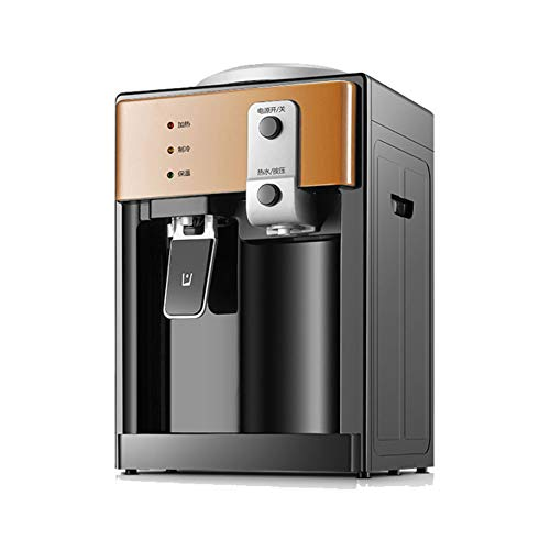 L&U 220 V 500 W Dispensador de Agua fría/Caliente Mini Escritorio Eléctrico Enfriador para Beber automático para la Oficina en casa Café Barra de té, 3 Modos