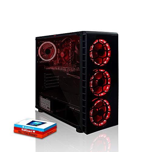 Fierce Apex RGB Gaming PC - Schnell 4.7GHz Octa-Core Intel Core i7 9700, 1TB Festplatte, 16GB 3000MHz, NVIDIA GeForce GTX 1660 6GB, Windows 10 installiert 1129978