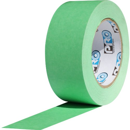 ProTapes Pro Scenic 708 Crepe Paper 8 Day Easy Release Painters Masking Tape, 3/4' Width