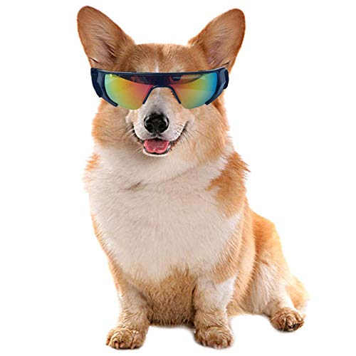 ASDFGHJKL 2 Pcs Perro Gafas con Estilo Impermeables Gafas De Sol Anti-Ultravioleta para El Perrito del Perrito