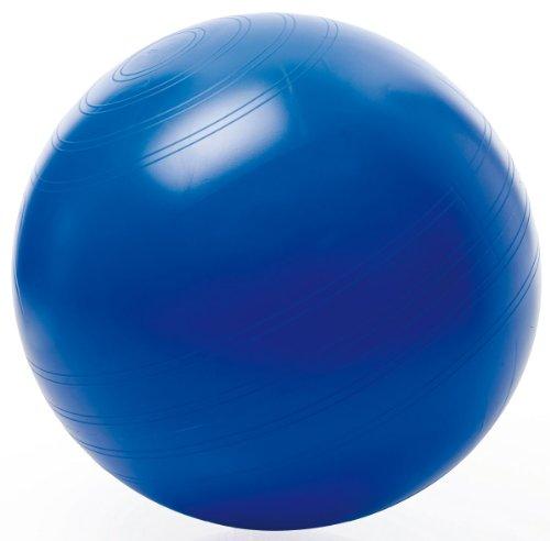 TOGU Gymnastikball Sitzball ABS (Berstsicher), 65 cm, blau