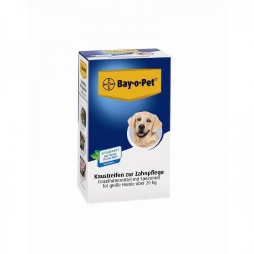 Bay · o · Pet Cuidado Dental kaustreifen spea Spearmint Gran Perro 140g, hueso, kauknochen