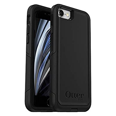 OtterBox Commuter Series Case for iPhone SE (2nd gen - 2020) - Black