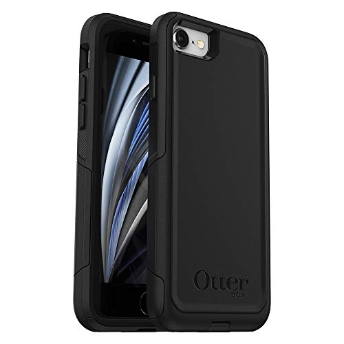OtterBox COMMUTER SERIES Case For iPhone 8/7 (NOT PLUS) - Frustration Free Packaging - BLACK