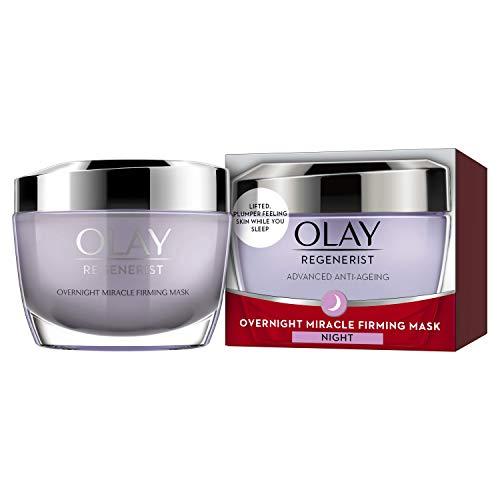 Olay Regenerist Night Cream, Overnight Miracle Firming Mask, Overnight Face...