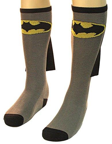 Batman Cabo Jrs Gris Rodilla calcetines altos