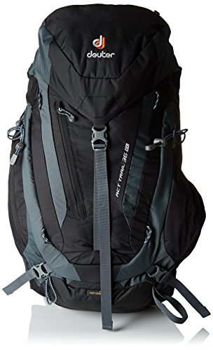 Deuter ACT Trail Mochila para Montaña, Unisex adulto, Negro, 30 l