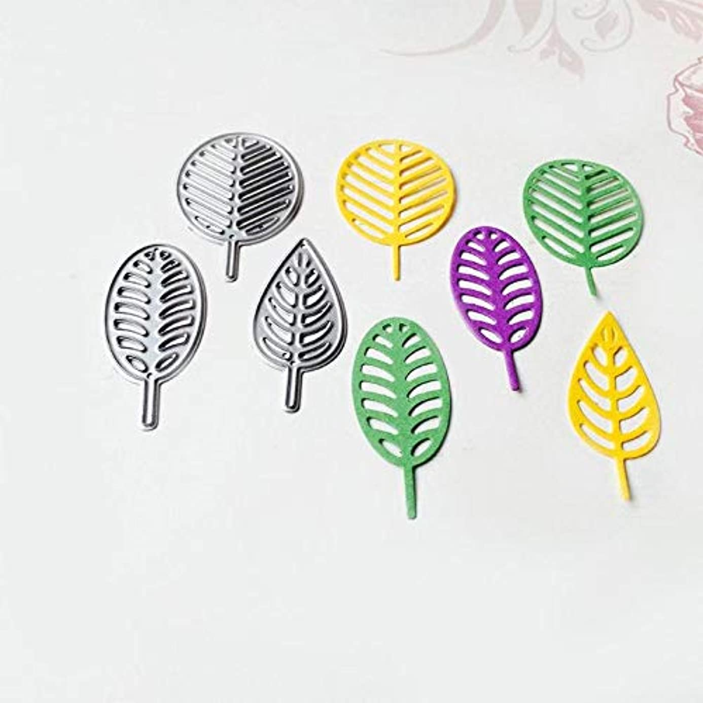 Cacys-Store - DIY Cutting Dies Leaves Metal Carbon Steel Stencils Maple Leaf for Scrapbooking/Photo Die Cuts Album Embossing Craft Decor uxz7604599