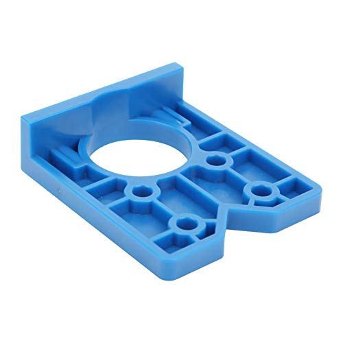 Ccylez 35mm Drilling Template, Drilling jig, Guide Opener, Plastic Drill, Door Drilling Template, Hole positioner, Woodworking, Punching Tool for Cabinet Hinges and Assembly