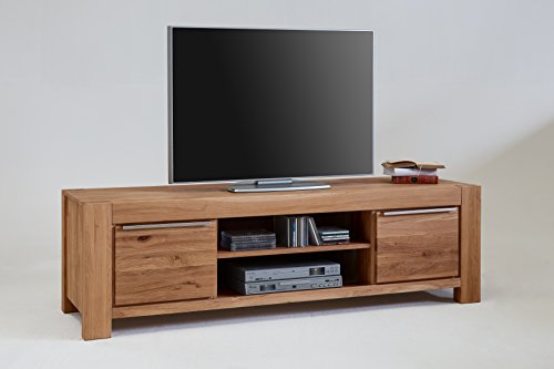 Ellberg TV-Kommode Nena Lowboard Wildeiche Massiv Breite 175cm 2757 exsopo