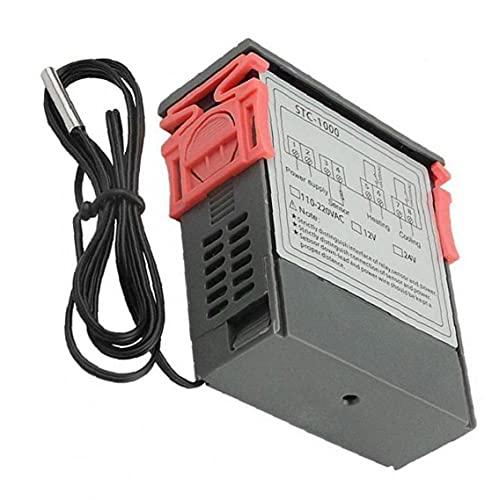 Temperatura de respuesta controlador digital STC-1000 Pantalla microordenador digital 110V-220V del regulador de temperatura rápida, instrumento de medición de valor exacto