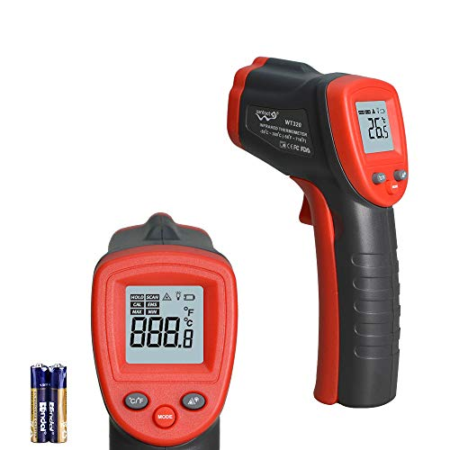 IR Thermometer Infrared Temp Gun -58℉-716℉(-50℃-380℃) with...