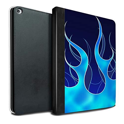eSwish - Libro de Pintura, Funda, IP-TSB, colección de Trabajos de Pintura de Llama Aqua/Blue Apple iPad Pro 12.9 2015/1st Gen