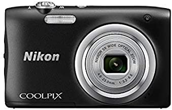 Nikon Coolpix A100 20MP Digital Camera (Black) International Model No Warranty