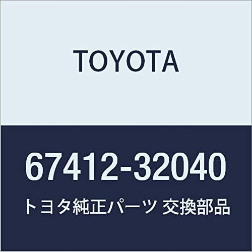 Toyota 67412-32040 Direct store Door Frame Regular dealer Window
