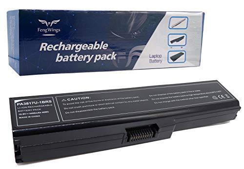 10.8 V 4400 mAh Reemplace la batería del portátil por PA3817U-1BRS PA3818U-1BRS PA3819U-1BRS for Toshiba Satellite A660 A665 C600 C645 C650 C655 C660 L600 L630 L635 L640 C670 C670D L670 L670D L675