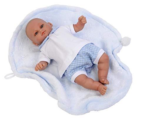 Falca 30051 Baby Puppe mit Zubehör