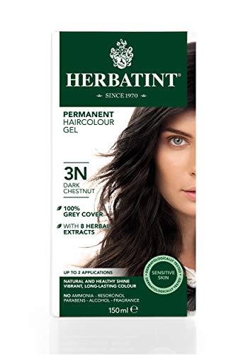 Herbatint 3N - Tinte para el cabello, color castaño oscuro, 150ml