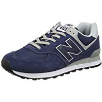 New Balance 574v2-core Trainers, Zapatillas para Hombre, Azul (Navy), 39.5 EU