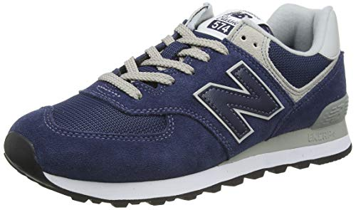 New Balance homme 574v2 Core Baskets, Bleu (Navy), 44.5 EU