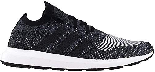 Zapatillas Adidas Swift Run Primeknit para hombre, Negro (negro, gris (Black/Grey Five)),...