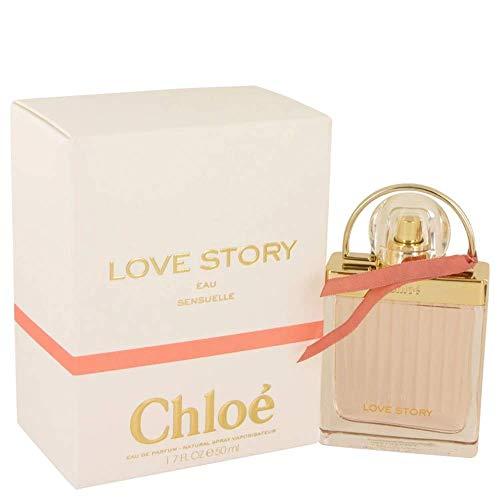 Chloé Love Story Eau Sensuelle Eau de Parfum femme woman, 1er Pack (1 x 50 ml)