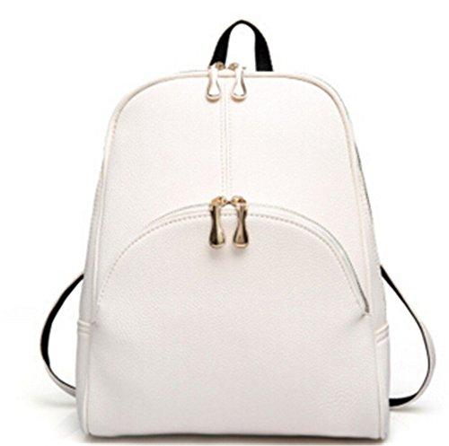 Mefly Mochila Escolar Marcas Famosas Bolsas De Cuero Mujer Mochilas Bolsas De Viaje Bolsas De Viaje,Mochila Blanca