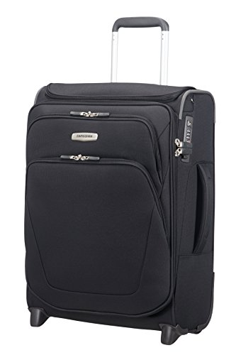 Samsonite Spark SNG - Upright S Erweiterbar Toppocket Handgepäck, 55 cm, 48,5 L, Black