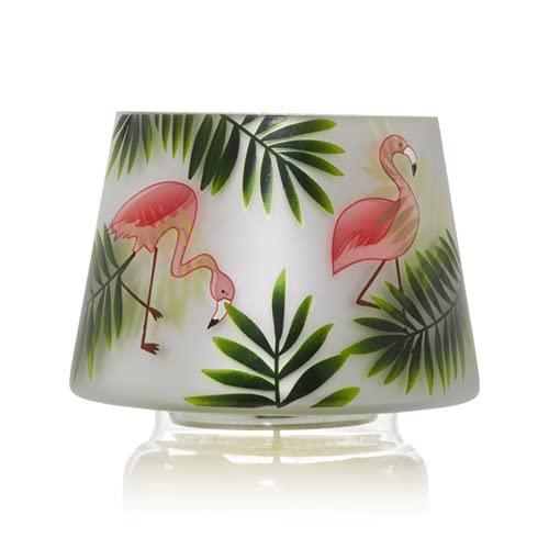 Yankee Candle Large Paradise Flamingo Jar Shade Candle Topper