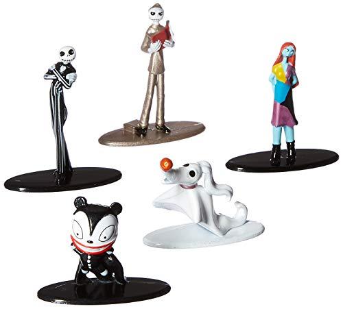 Jada Pack 5 Figuras Pesadilla Antes de Navidad, Multicolor (3067930048)