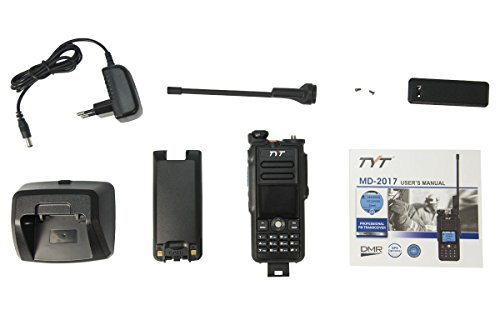 TYT-MD-2017 GPS Walkie Talkie BIBANDA DMR, VHF/UHF, 144/430 Analogico y Digital GPS