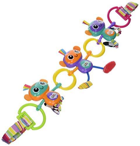 Juguete con monos enganchables para cochecito de bebé, de Lamaze