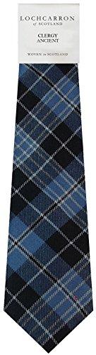 I Luv Ltd Gents Neck Tie Clergy Ancient Tartan Lightweight Scottish Clan Tie
