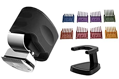Skull Shaver Beast Clipper Men's Electric Hair Clipper for Head, Beard and Mustache Travel Kit with 8 Interchangeable clipper combs
